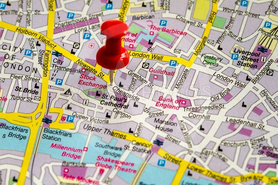 Karta Over Centrala London Av Bengt Hultqvist Mostphotos
