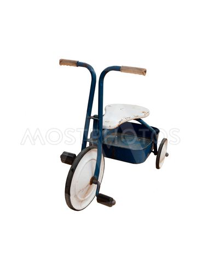 Retro childrens tricycle