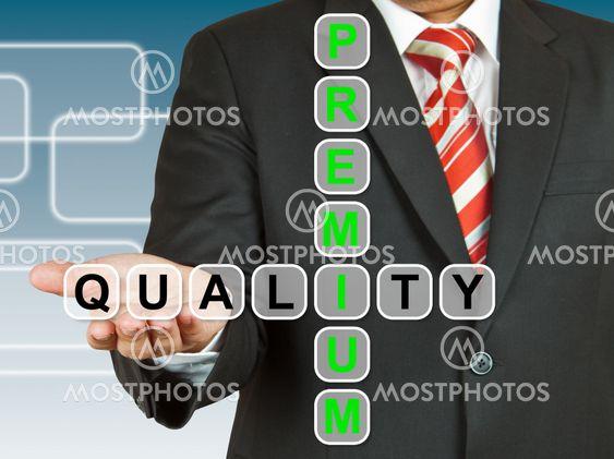 Businessman hand drawing Premium Quality