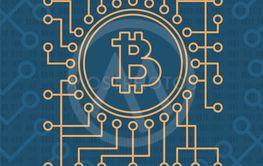 crypto currency monetary vector