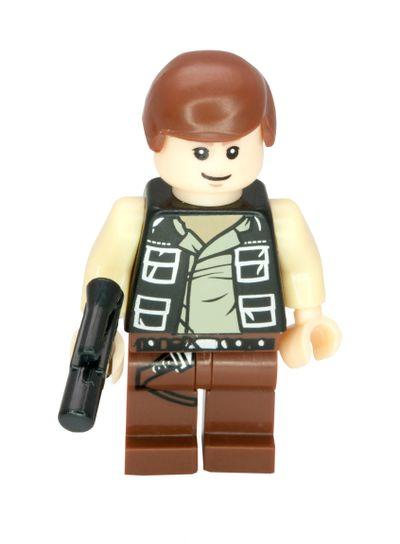 Han Solo Lego Compatible Minifigure