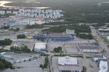 The first IKEA location