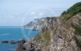 Jurassic coastline Dorset UK