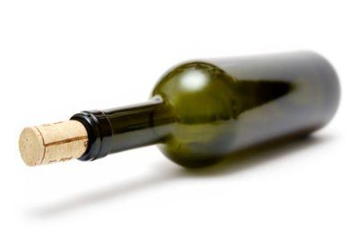 Greenish Wine Bottle