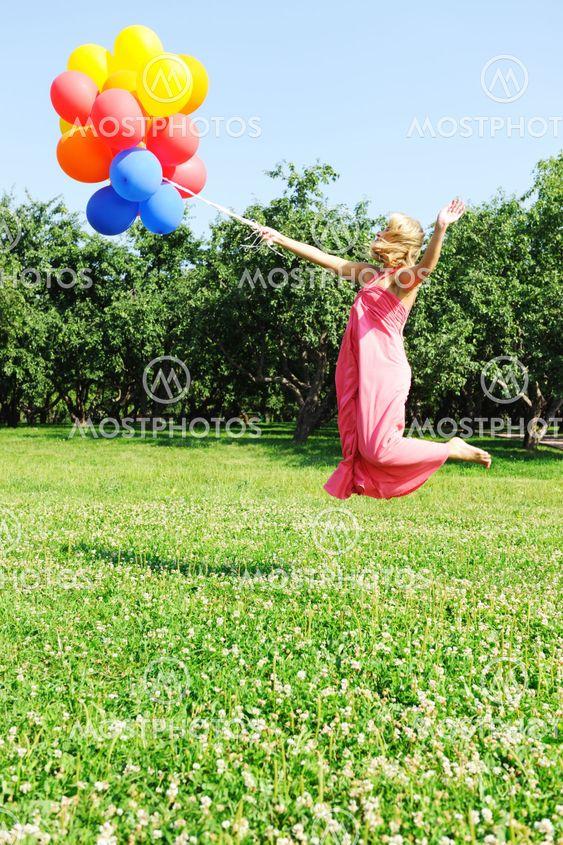 Flygande med ballonger