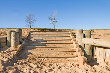 Stairway in Sand