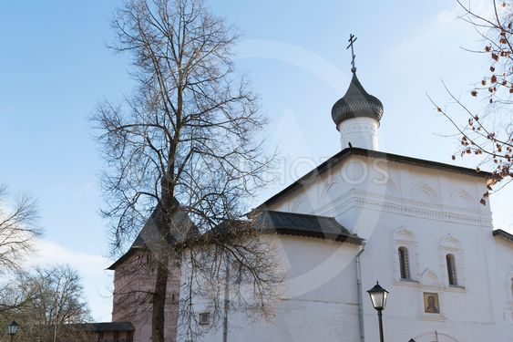 Gate Church of the Annunciation at Suzdal was built...