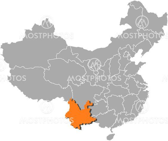 Steffen Hammer N Kuva Kiinan Yunnan Korostettuna Mostphotos