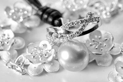 White gold jewelry