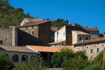 City View of Le Vans, Southern France