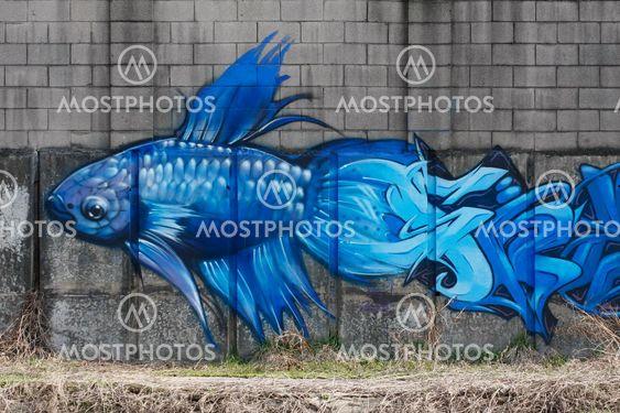 Grafitti riverside