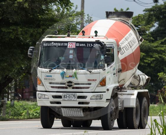 Cement truck of PPS Concrete company