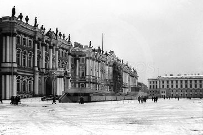Leningrad. Palace Square. February 1977.
