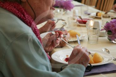Dinner at the Nursing Home