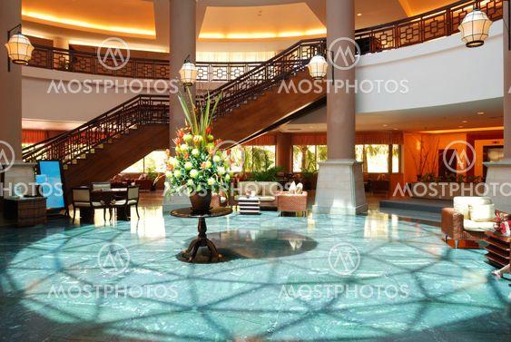 Lyx hotellets lobby