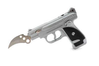 Gun Lighter with knife