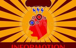 Fun cyberpunk poster. Alert!!! Information overload....
