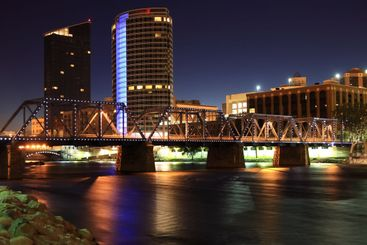 The Grand River at Night
