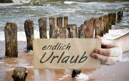 holiday on the Baltic Sea beach