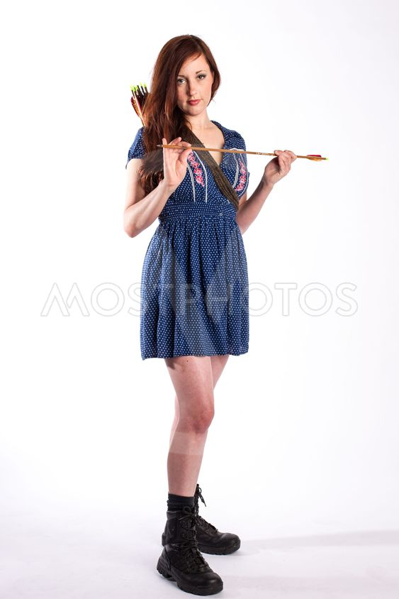 Redhead with Arrows