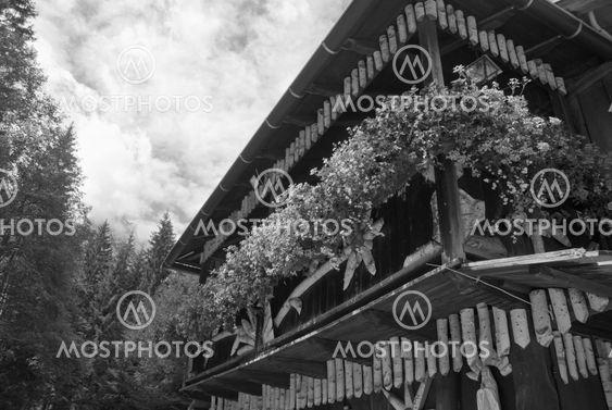 Tyypillinen Dolomites House, Italia