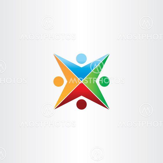 color people star symbol