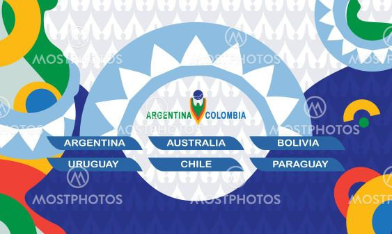 CONMEBOL Copa America Argentina 2020 Colombia Background