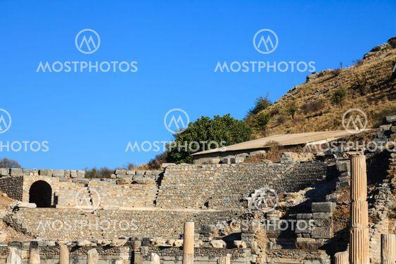 Odeon in ephesus, kusadasi, turkey