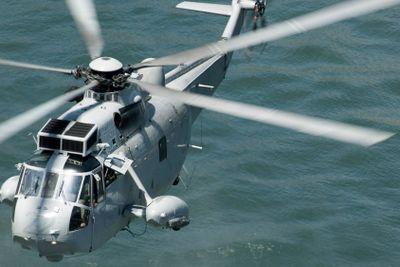 navy rescue chopper