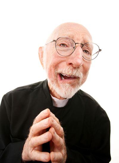 Funny Priest