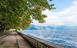 Ioannina lake Pamvotis summer time , Epirus Greece