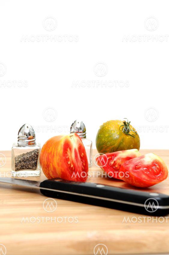 Skiver Heirloom tomat