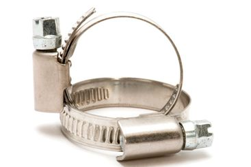 two hose clamp
