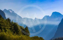 Mountains in Triglav national park, Slovenia