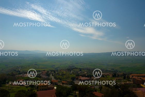 View from Volterra, Tuscany