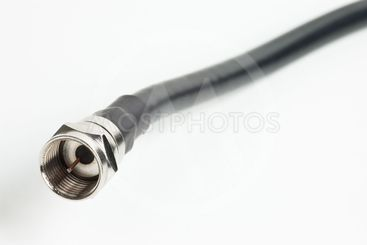 Coaxial television cable