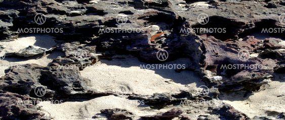 Sea Rocks and sand