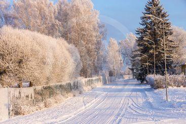 Snöstaket