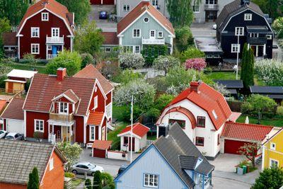 Örebro, villaområde