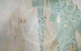 old vintage wallpaper. grunge background