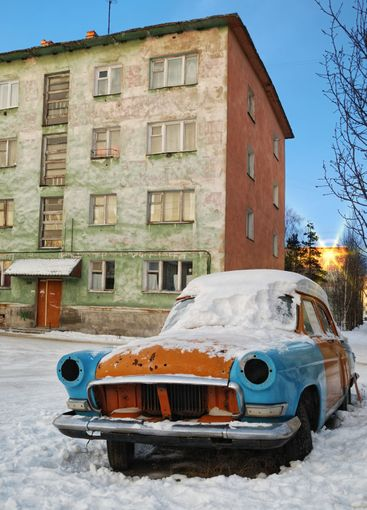 Very old automobile