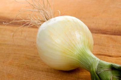 Sweet Onion on Wood