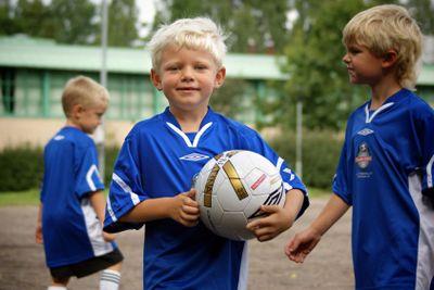 Pojke på Fotbollsskola