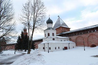 building, Kremlin, Great Novgorod, restaurant building,...