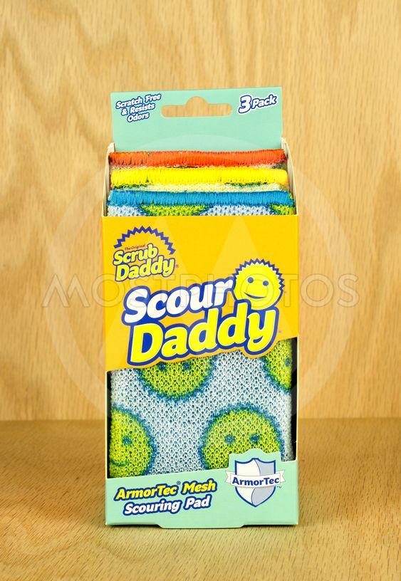 Scouring pad box.