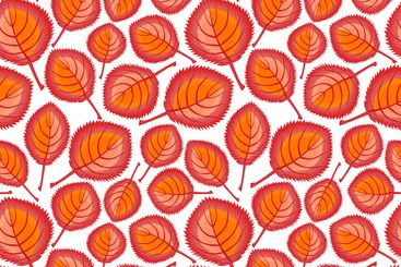 Square, seamless pattern, leaf pattern. Background for...