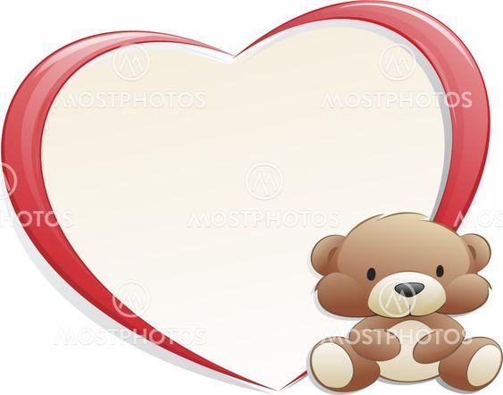 Teddy Bear with Frame\