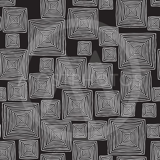 Squares seamless pattern in black and white