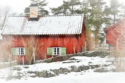Äldre bevarat hus
