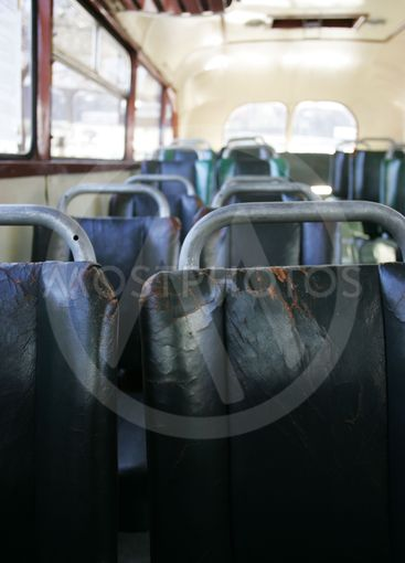 Old bus seats